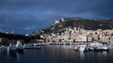 Вид на порт Монте-Карло. Архивное фото