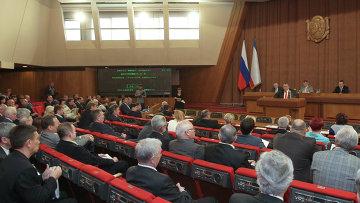 Заседание Государственного Совета Крыма, архивное фото