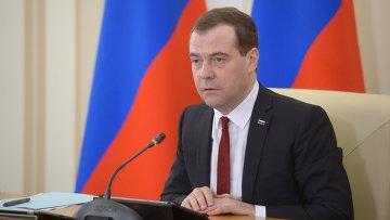 Рабочая поездка Д.Медведева в Крым. Архивное фото