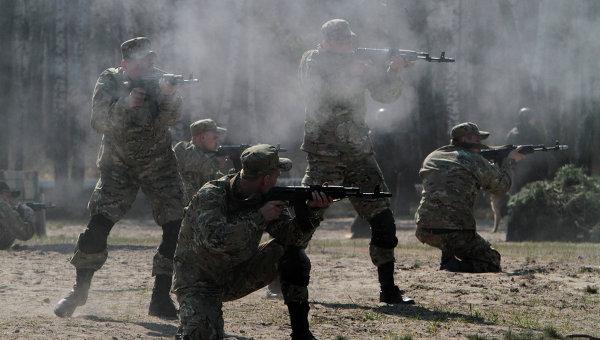 Учебный центр Национальной гвардии Украины. Архивное фото