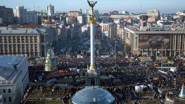 Народное вече на площади Независимости в Киеве. Архивное фото