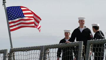 Моряки Военно-морских сил США. Архивное фото