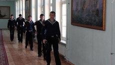Нахимовское Военно Морское училище. Архивное фото