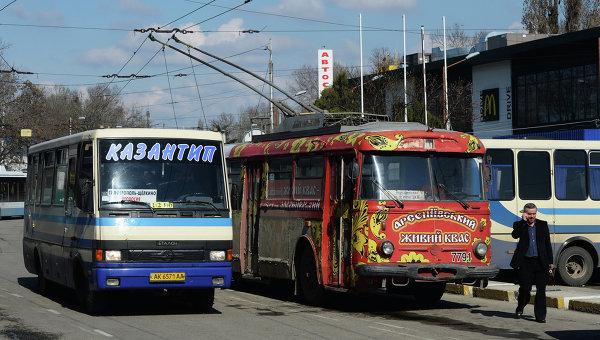 Автобус на Казантип в Симферополе