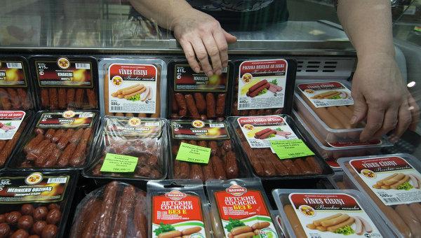 Продажа мясной продукции из Латвии. Архивное фото