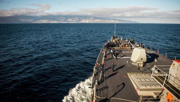 Эсминец ВМС США Donald Cook, архивное фото