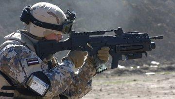 Солдат латвийской армии