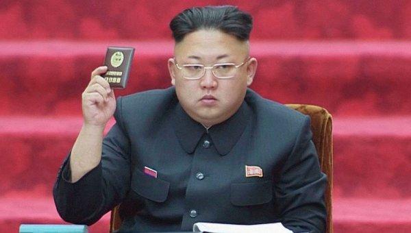 Ким Чен Ын на сессии Верховного народного собрания КНДР