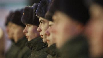 Служба в российской армии, архивное фото