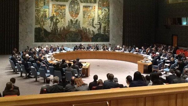 Встреча СБ ООН. Архивное фото