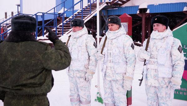 Пограничная застава Нагурское, Земля Франца-Иосифа. Архивное фото
