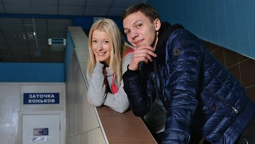 Фигуристы Екатерина Боброва и Дмитрий Соловьев. Архивное фото