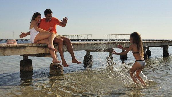 Пляж Ла-Рибера в Испании. Архивное фото
