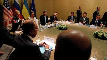 Переговоры по урегулированию кризиса на Украине в Женеве. 17 апреля 2014