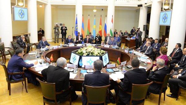 Заседание Совета Парламентской Ассамблеи ОДКБ, архивное фото