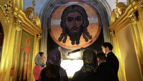 Подготовка к празднованию 700-летия Сергия Радонежского. Архивное фото