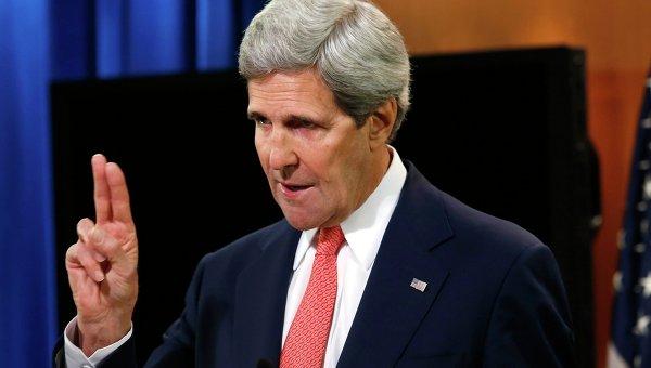 Государственный секретарь США Джон Керри. Архивное фото