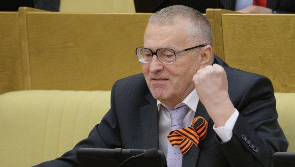 Лидер ЛДПР Владимир Жириновскийю. Архивное фото