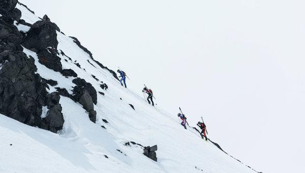 Альпинизм. Архивное фото