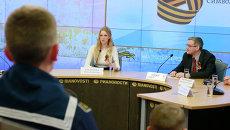 Елена Козлова принимает участие в круглом столе Георгиевская ленточка - символ связи поколений