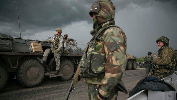 Подготовка к спецоперации в Славянске