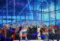 """Артисты после выступлений в полуфинале 59-го международного конкурса песни """"Евровидение-2014"""" в Копенгагене"""