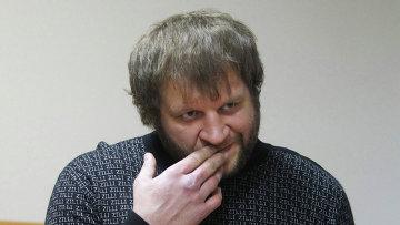Боец смешанных единоборств Александр Емельяненко. Архивное фото