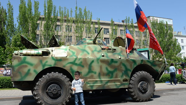Ситуация в Донецке накануне референдума
