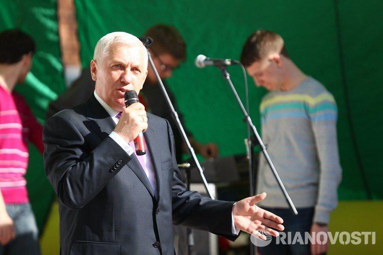 Ректор Томского политехнического университета Петр Чубик