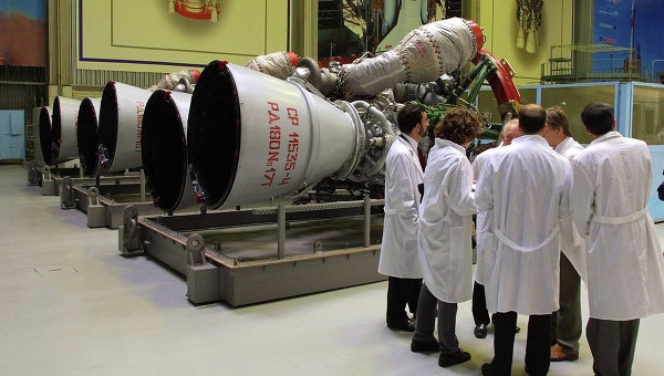 Ракетные двигатели. Архивное фото