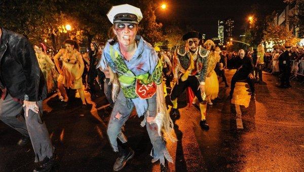 Вилладж Хэллоуин Парад в Нью-Йорке. Архивное фото