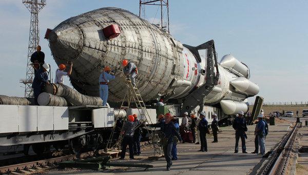 Ракета космического назначения Протон-М. Архивное фото