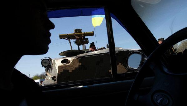 БТР украинской армии, архивное фото