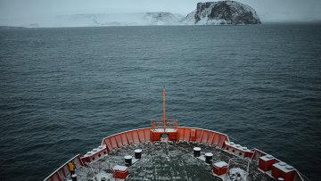 Земля Франца-Иосифа в Северном Ледовитом океане. Архивное фото