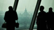 Смотровая площадка открылась в бизнес-центре Москва-Сити