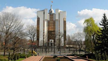 Здание президентского дворца в Кишиневе. Архивное фото