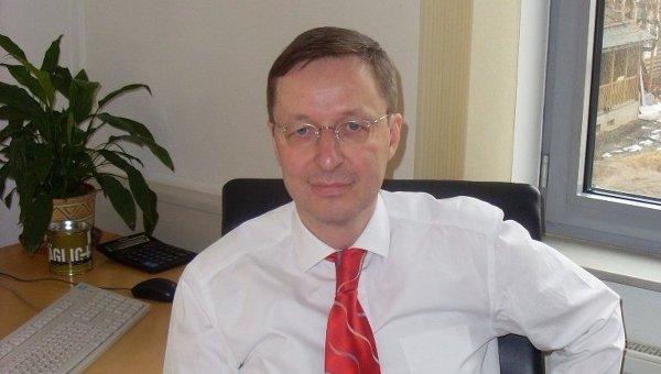 Глава Российско-германской внешнеторговой палаты Михаэль Хармс. Архивное фото