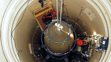 Пусковая установка МБР на базе Malmstrom в штате Монтана. Архивное фото
