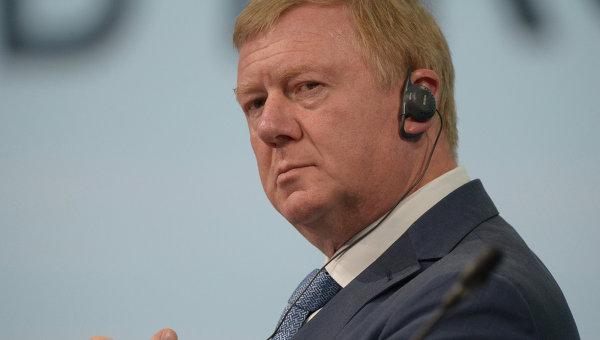 Анатолий Чубайс, архивное фото