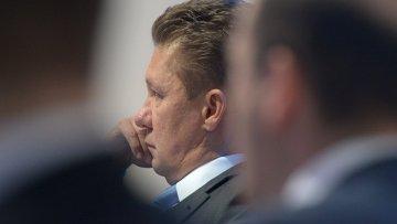 Председатель правления ОАО Газпром Алексей Миллер, архивное фото