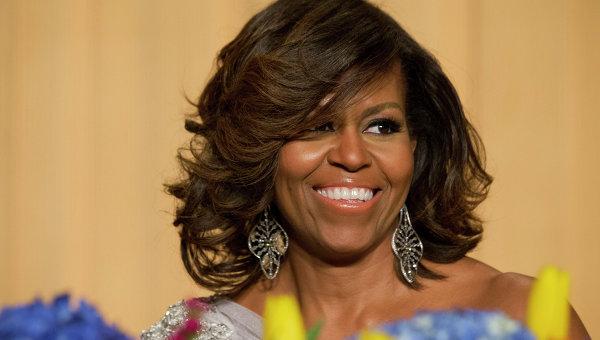 Первая леди США Мишель Обама. Архив