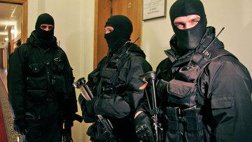 Сотрудники СБУ Украины, архивное фото