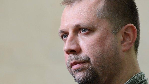 Премьер-министр Донецкой Народной Республики Александр Бородай. Архивное фото