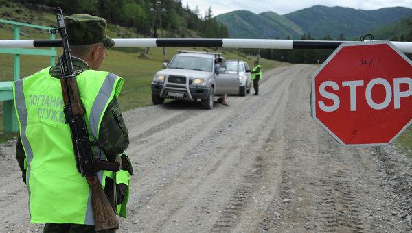 Российские пограничники, архивное фото
