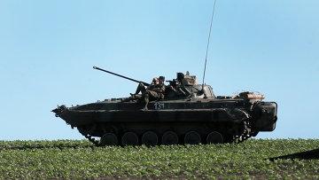 Танк Украинской армии