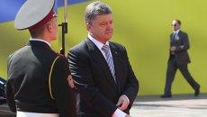 Инаугурация Петра Порошенко в Киеве. Архивное фото