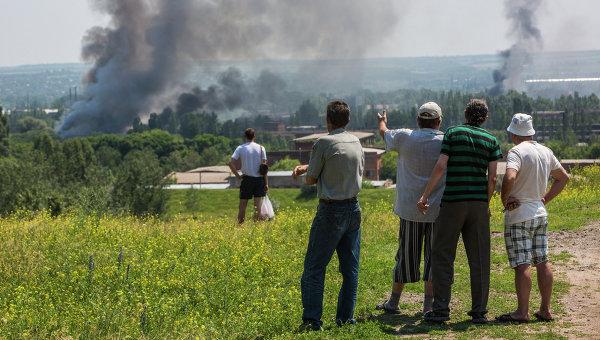 Ситуация в Славянске