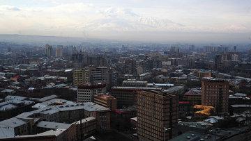Столица Армении Ереван. Архивное фото
