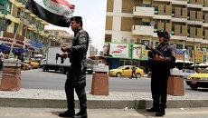 Иракская полиция после захвата боевиками провинции Мосул. Архивное фото