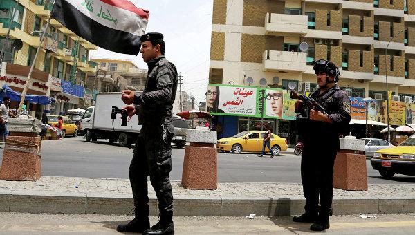 Иракская полиция. Архивное фото